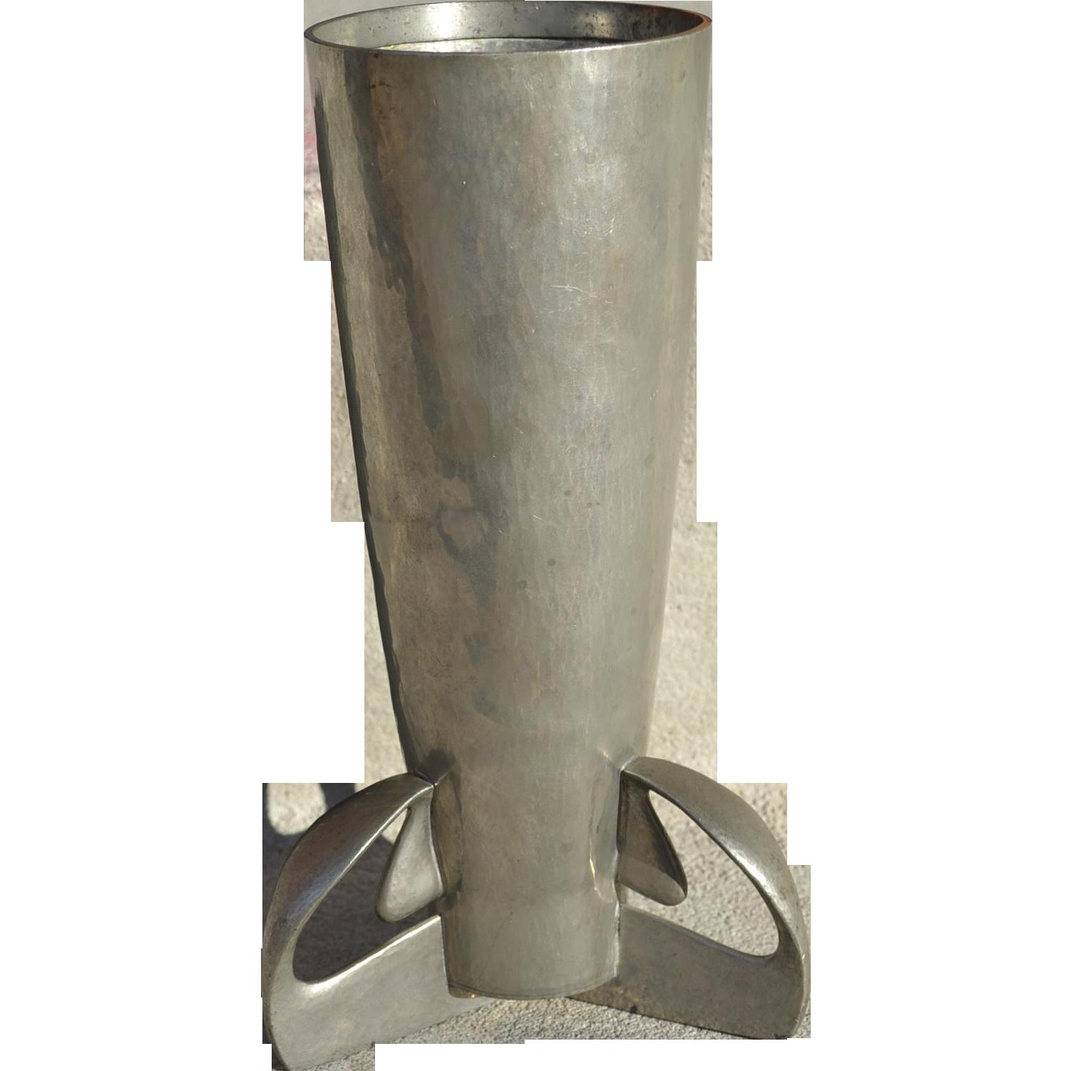 Archibald Knox Tudric Pewter Vase