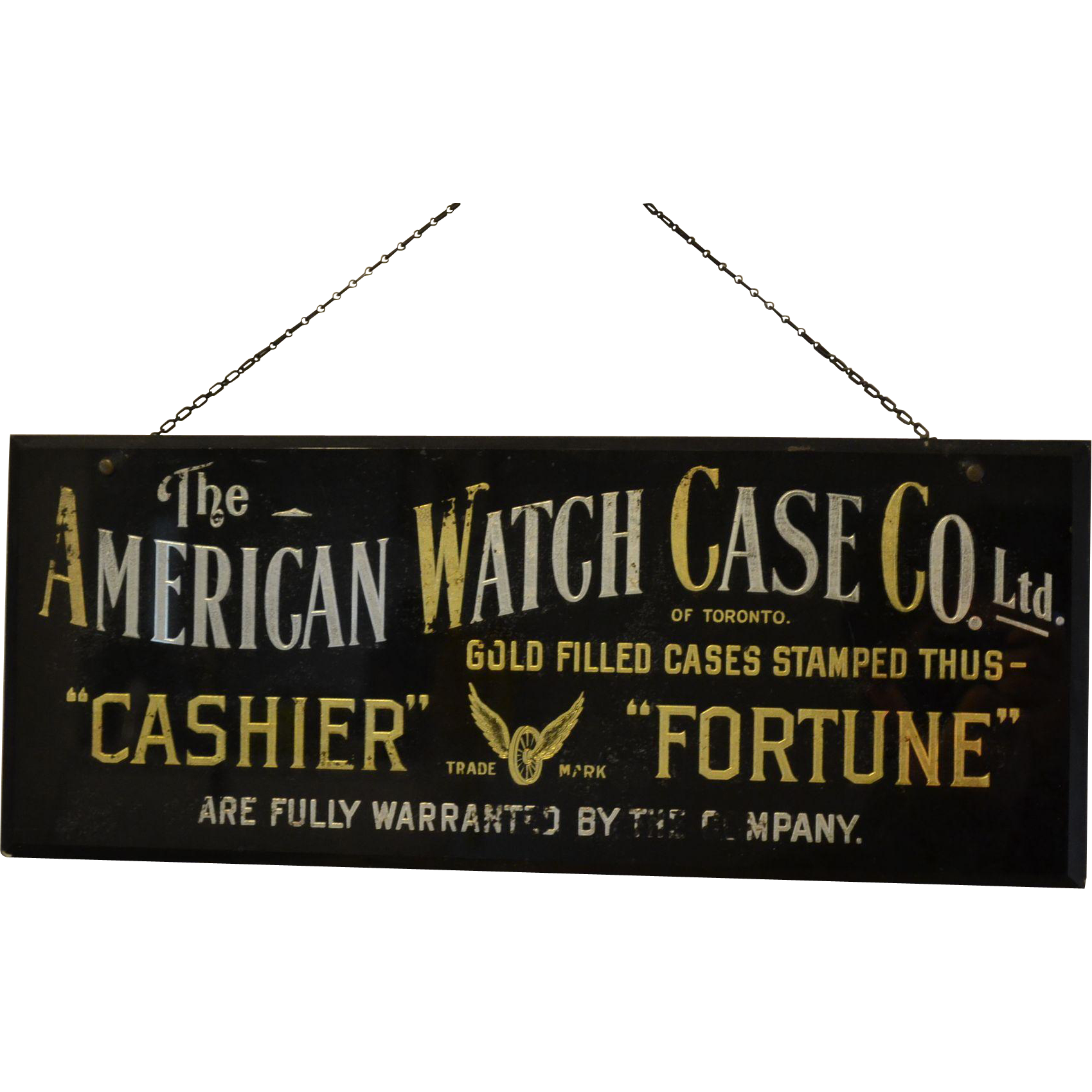 Rare Sign : American Watch Case Company