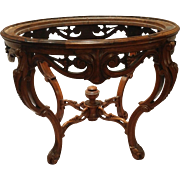 Rococo revival center table
