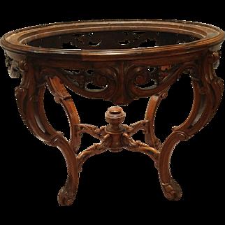 Rococo revival center table