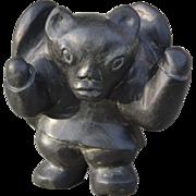 Inuit Stone Transformation Sculpture