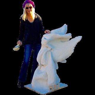 Liza Williams 3 Foot ANGEL Concrete