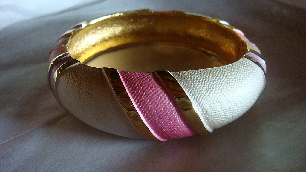 Pretty in Pink Clamper Bracelet Marked Park Lane