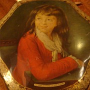 Beautiful Young Girl Biscuit Tin Peek, Frean & Co. LTD. London, England