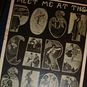 Wisconsin 'Meet Me At The Postcard Shop' Paas Book Store Campbellsport HTF Large Letter