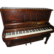 Antique Collard & Collard England Rosewood Piano With Digital Conversion