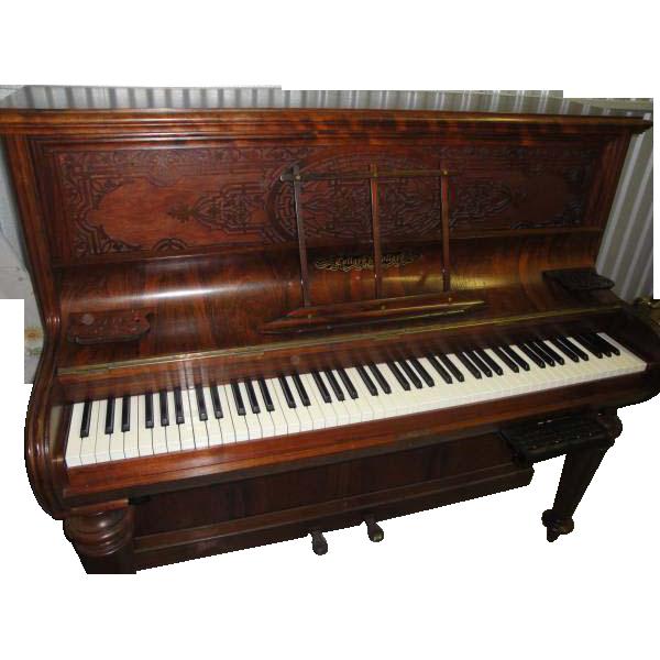 Antique Collard & Collard England Rosewood Piano With Digital Conversion