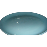"Fire King Turquoise Blue Oven Ware 7 1/4"" Salad Plate 1956 - 58"