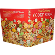 1963 First Edition Betty Crocker's Cooky Book Perfect Vintage Kitchen Cover