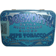 Vintage Edgeworth Pipe Tobacco Tin Excellent Condition Larus & Bro. Co. Richmond, VA