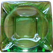 Anchor Hocking Fire King Spearmint Green Nesting Ashtray Medium Size