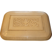 Marshall White Chicago Cameo Plaskon Silverware Flatware Chest Often Mistaken for Bakelite, Discontinued