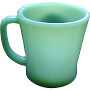 Jadite Fire King D Handle Mug As Found See Pictures