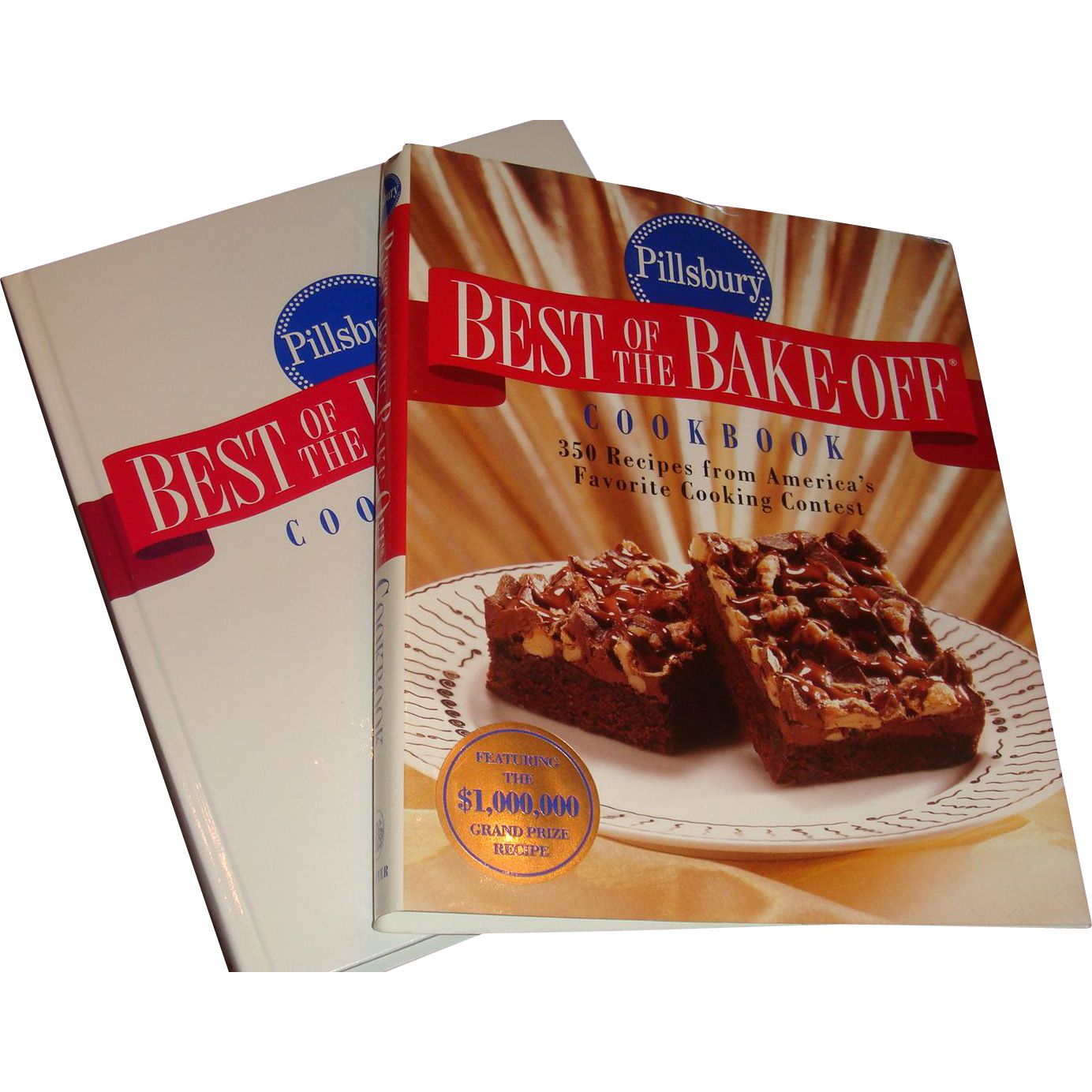 Like New 1996 Pillsbury Best of the Bake Off Cookbook Hardback with Dust Jacket