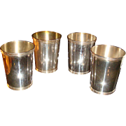 Gorham Newport Sterling 1673 Silver Mint Julep Cup(s)