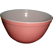 Vintage Pyrex Pink Mixing Bowl  1 1/2 Quarts No. 402