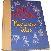 1946 The Big Book of Nursery Tales Hardback Children's Book 14 Stories