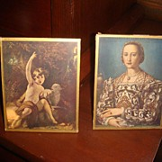 Pair of Framed Prints With Religious Significance Wallace Collection