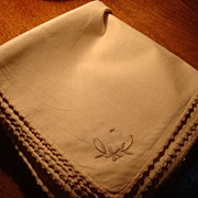 Set of 11 Never Used Wonderful European Table Linens!  Embroidery, Tatting