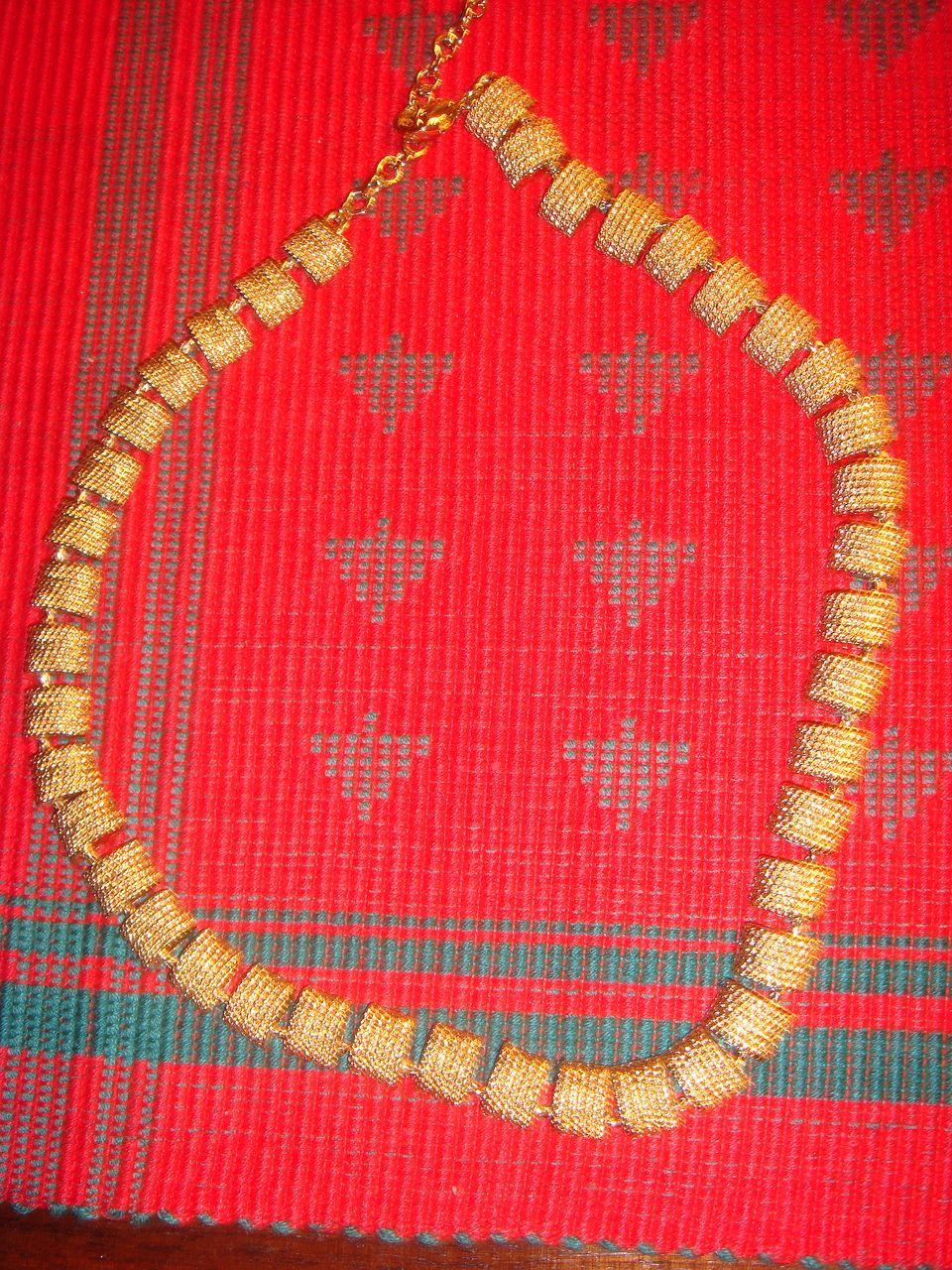 Vintage Napier Gold Tone Necklace 41 Links!