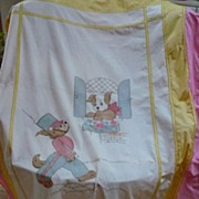 Embroidered Childs Bed Cover