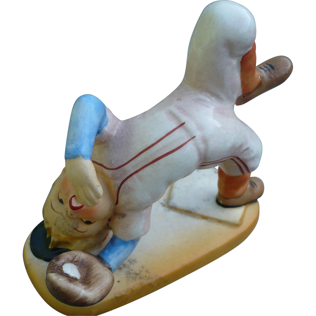 Baseball Boy  Figurine