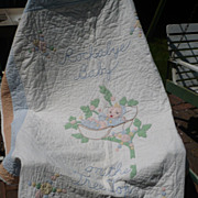 Rockabye Baby Childs Quilt