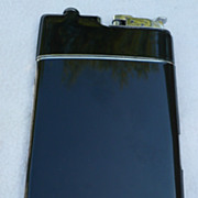 Enamel & Guilloche Compact Cigarette Lighter Case