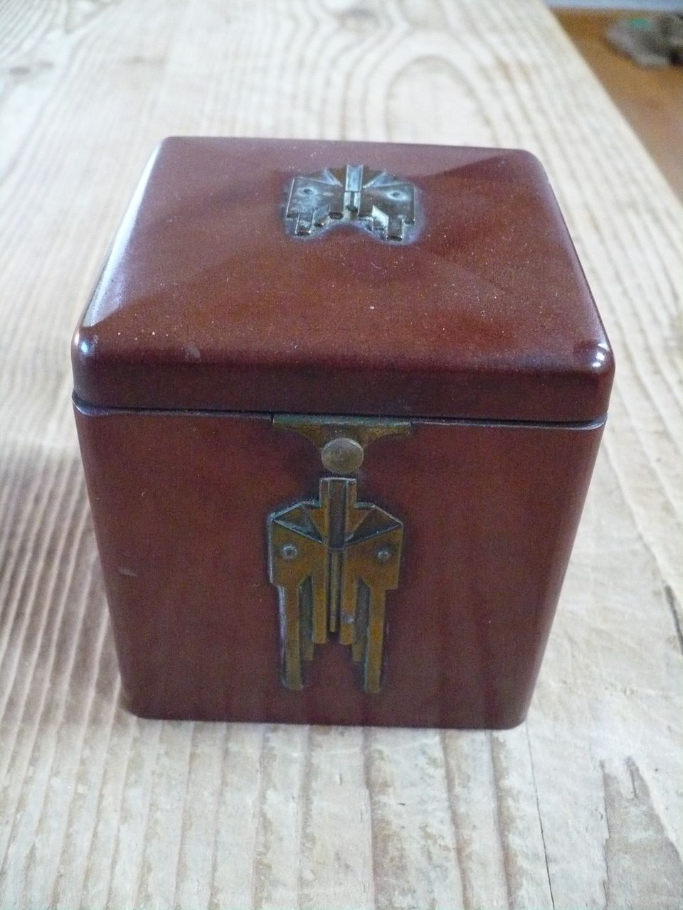 Bakelite Cigarette Box