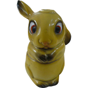 Porcelain German Rabbit Inkwell