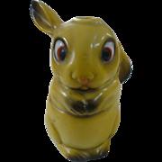 Porcelain German Rabbit Inkwell