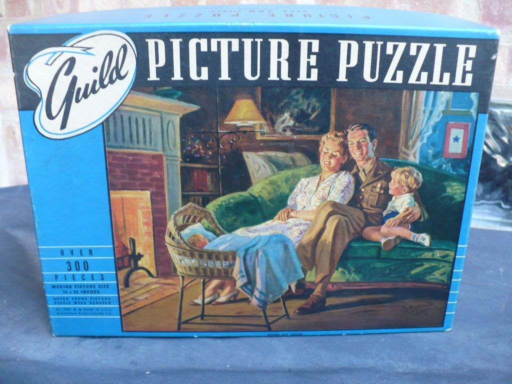 Home on Leave World War 2 Puzzle