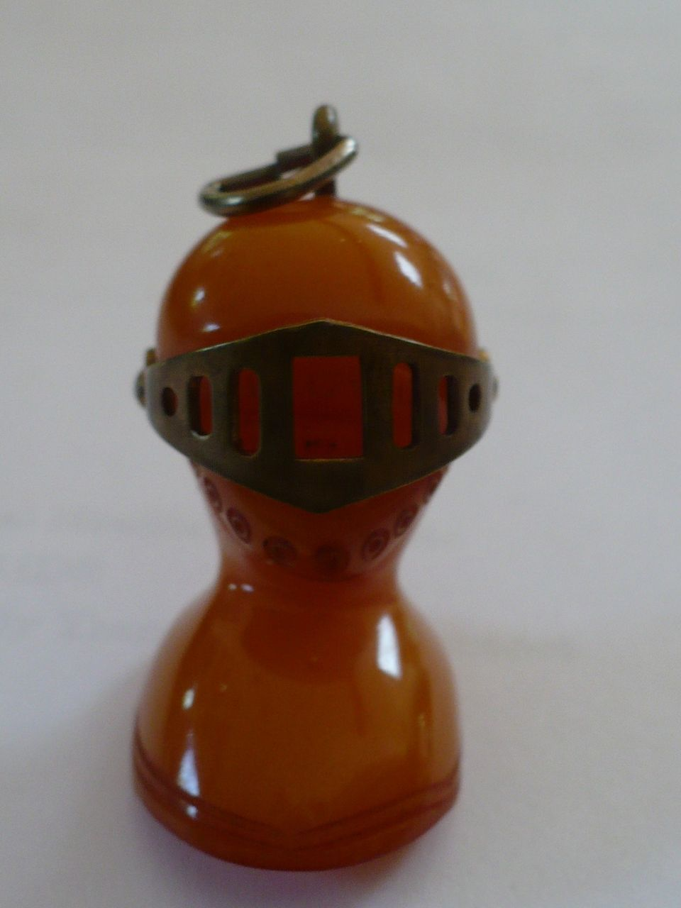 Bakelite Knight Charm of Pendant