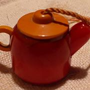 Bakelite Teapot Shade Pull - Red Tag Sale Item