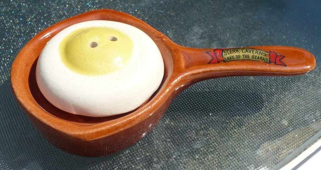 Eggs in Frying Pan Salt & Pepper