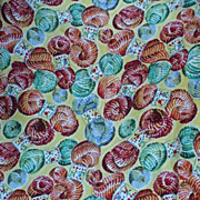 Yarn Hank Print  Fabric