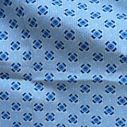 Blue Cotton Print Fabric