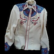 Western Cowboy  Shirt Rockabilly
