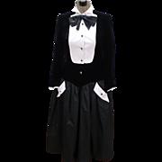 Lorcan Mullany England Tuxedo Dress