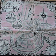 New Orleans  Handkerchief Vintage