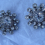 Kramer Rhinestone Earrings