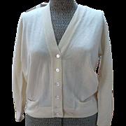 Vintage Cashmere Dalton Cardigan Sweater