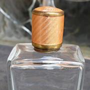 Guilloche Travel Bottle