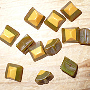 Bakelite Buttons Two Color 12