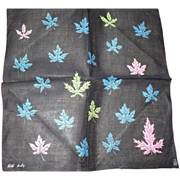 Faith Austin Leaf Handkerchief