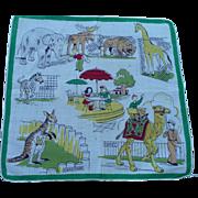Zoo Vintage Handkerchief