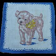 Childs Dog Handkerchief