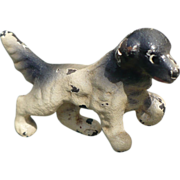 Miniature Hubley Pointer Dog Cast Iron