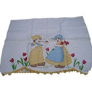Embroidered Dutch Kids Towel