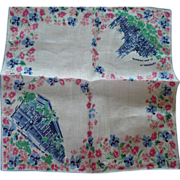 Meropolitian Museum Cathedral New York Handkerchief